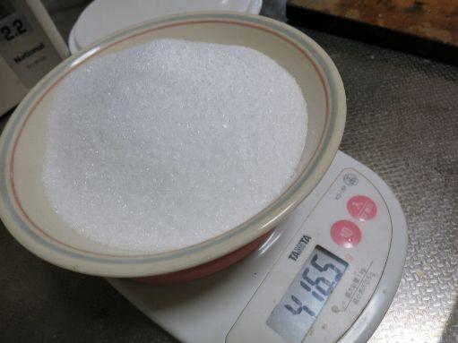 グラニュー糖約400g